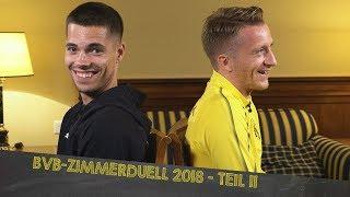 BVB Dorm Duel 2018 | Part 2 w/ Reus/Weigl, Bürki/Akanji & Dahoud/Burnic
