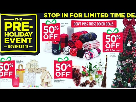 DOLLAR GENERAL HOLIDAY EVENT NOVEMBER 13 2020