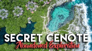 SECRET ABANDONED CENOTE & RESORT | XPU HA BEACH RIVIERA MAYA MEXICO