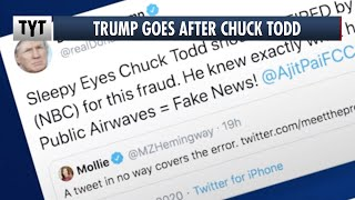 Trump Throws Twitter Tantrum Over NBC Segment, DEMANDS Chuck Todd Fired