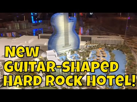 New Guitar-Shaped Hard Rock Hotel at Seminole Casino in Florida