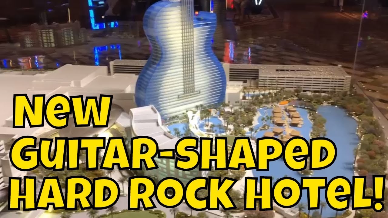 New Guitar-Shaped Hard Rock Hotel at Seminole Casino in Florida - YouTube