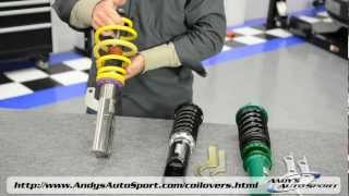 Lowering Springs vs Coilovers -- Presented by Andy's Auto Sport