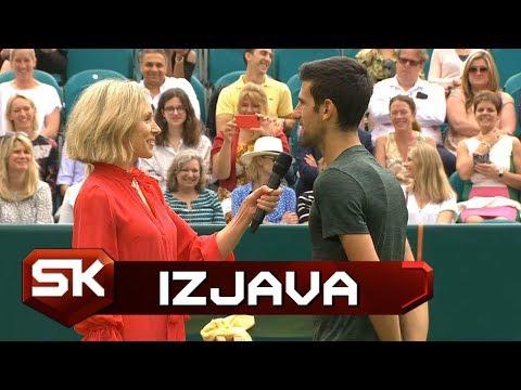 Novak Đoković o Svojoj Manekenskoj Karijeri | SPORT KLUB TENIS