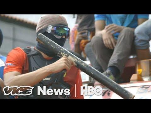 Venezuela Opposition Leader Gassed in the Street (HBO)