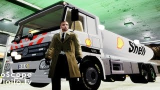 GTA IV Mercedes Benz Shell Truck PaintJob By Me