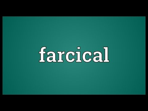 Farcical meaning for Farcical wrangle meaning