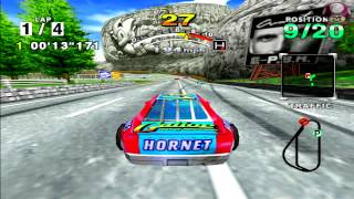 Intro Gameplay Daytona USA 2001 Sega Dreamcast HD