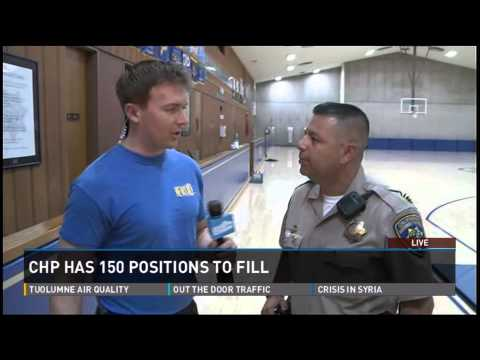 Do you have what it takes to become a CHP officer?