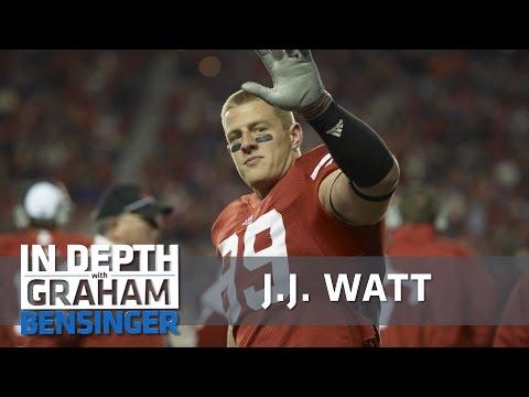 J.J. Watt: My tearful last tackle at Wisconsin