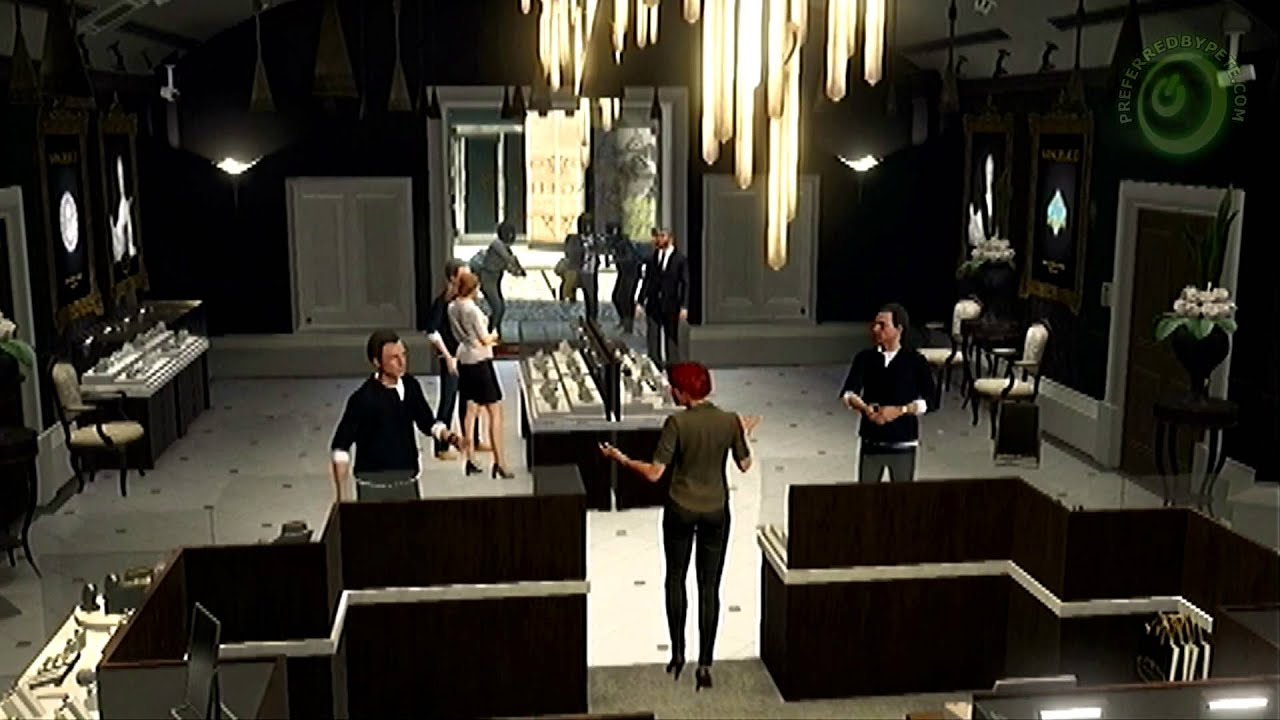 Gta  Walkthrough Mission  The Jewelry Store Job The Loud Approach