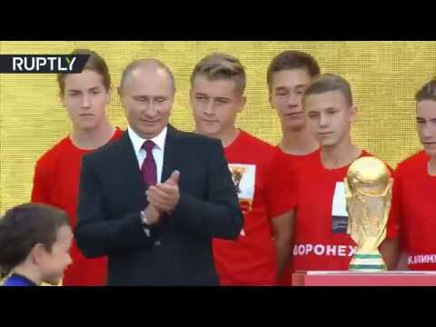 بوتين يعلن انطلاق رحلة كأس العالم  - 17:21-2017 / 9 / 9