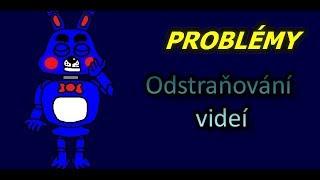 Problémy odstraňování videí