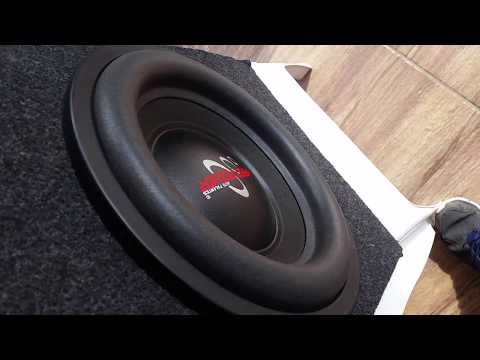 Subwoofer Hard Power HP S500 (500 RMS) + Roadstar Power One (720 RMS)