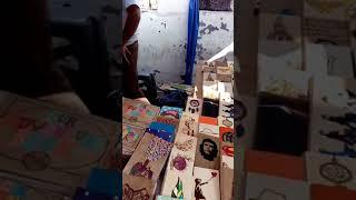 Mercado de artesanías barrio antiguo