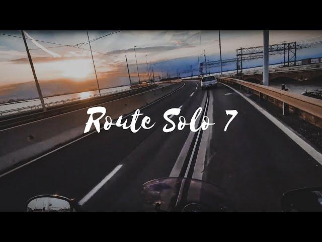 Route Solo 7 | Isvicre | Italya | Solo Biker Girl | XSR 900