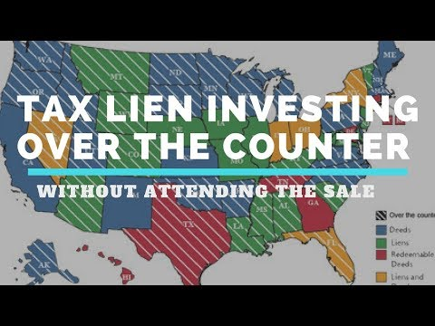 """Buy Tax Liens """"Over the Counter"""" without attending the Auction! (OTC)"""