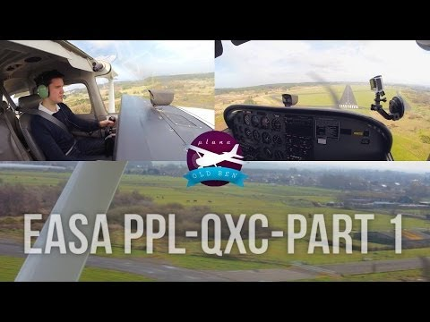 EASA PPL QXC | Part 1 - Blackpool To RAF Woodvale | ATC Audio