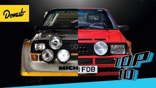 Top 10 Coolest Homologated Cars | Donut Media