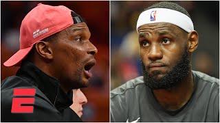 Chris Bosh is forced to choose between LeBron and Michael Jordan | Keyshawn, JWill & Zubin