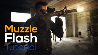 Epic Realistic MUZZLE FLASH - After Effects Tutorial