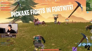 Pickaxe fight! - Best funny fortnite moments compilation #2