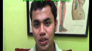 HAIR FALL treatment by Acupuncture at SARC-Goa Research Centre- Hindi