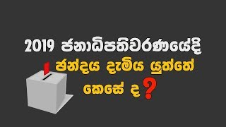 How to vote 12.11.2019
