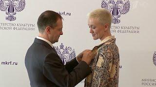 Церемония вручения государственных наград деятелям искусств прошла в Российском фонде культуры.