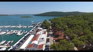 Camp Pomer, ACI Marine Pomer, Croatia phantom 4