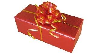 УПАКОВКА ПОДАРКА СВОИМИ РУКАМИ мастер-класс GIFT WRAPPING(Здравствуйте, дорогие друзья! Сегодня научимся упаковывать подарок. Видео мастер-класс