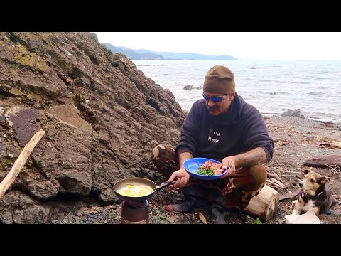 Hunkering Down at Camp 3 Night's | Fishing & Tips | Wood Stove Cooking