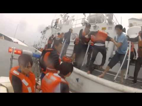 South Korea ferry  Six year old girl rescued