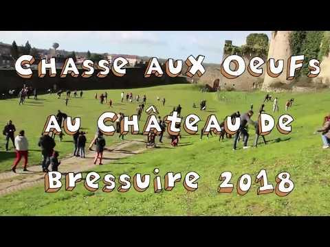 Chasse aux Oeufs au Château de Bressuire 2018