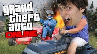 DE GRASMAAIER RACE?!! GTA Online