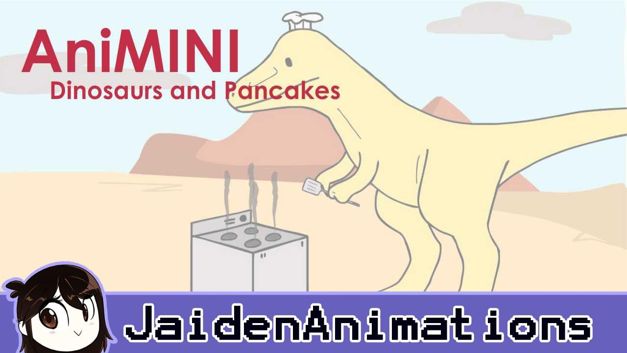 AniMINI: Dinosaurs & Pancakes - as the title says