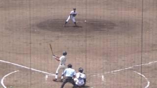 2016/7/20@コカ・ウエスト 如水館・肴屋和樹選手(2年)ホームランを含む3安打2打点
