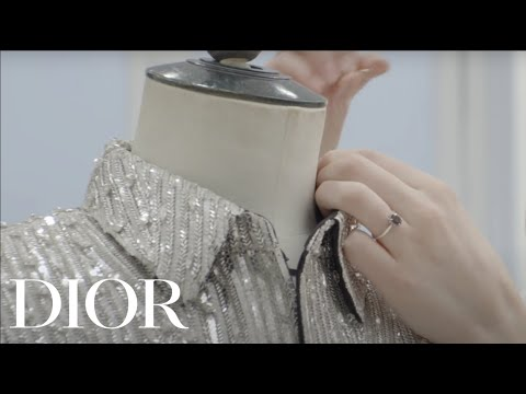 The Savoir-faire Behind The Embroidery In The Dior Men's Winter 2020-2021 Collection