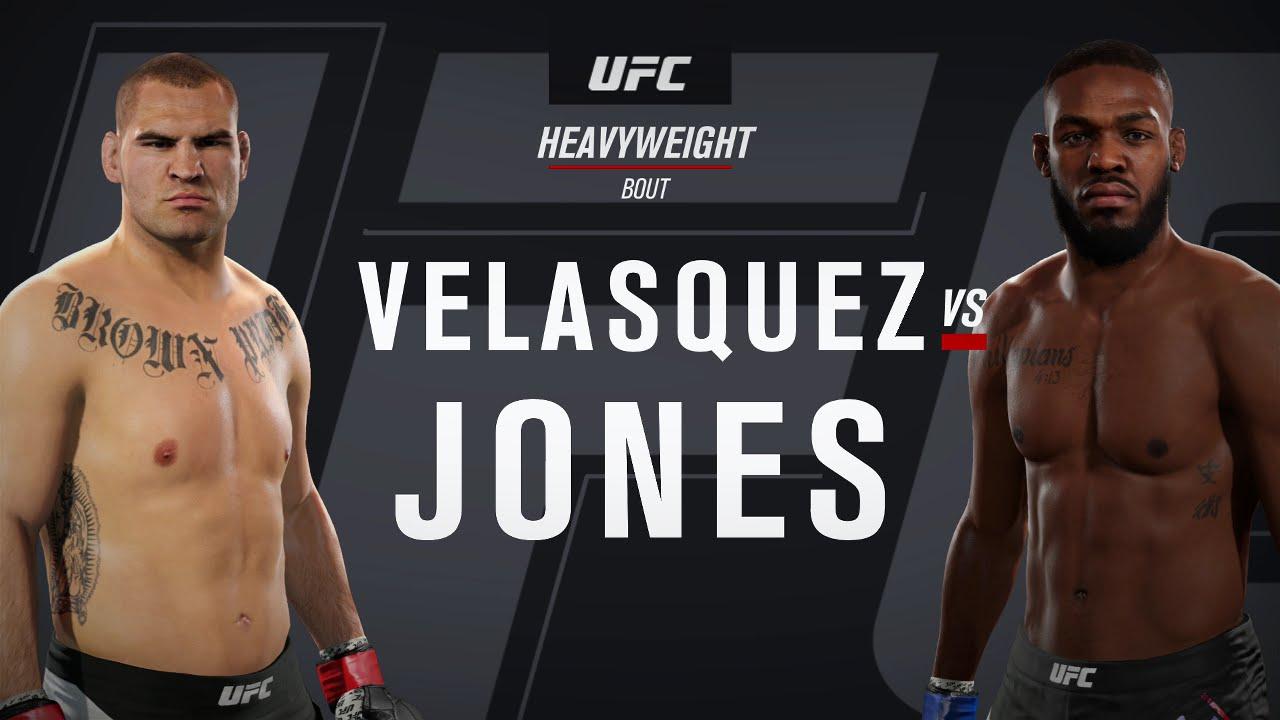 EA SPORTS UFC 2 Gameplay - Jon Jones vs Cain Velasquez ... Jon Jones Vs Cain Velasquez