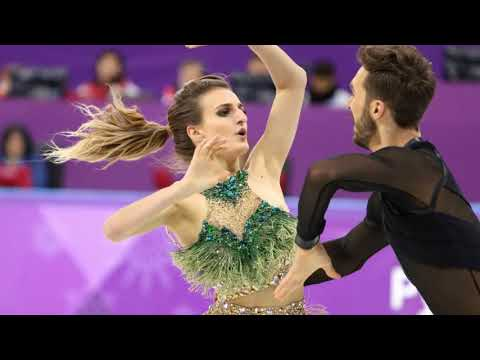 Winter Olympics 2018 Ice dancer Gabriella Papadakis left red faced after w ardrobe malfunction