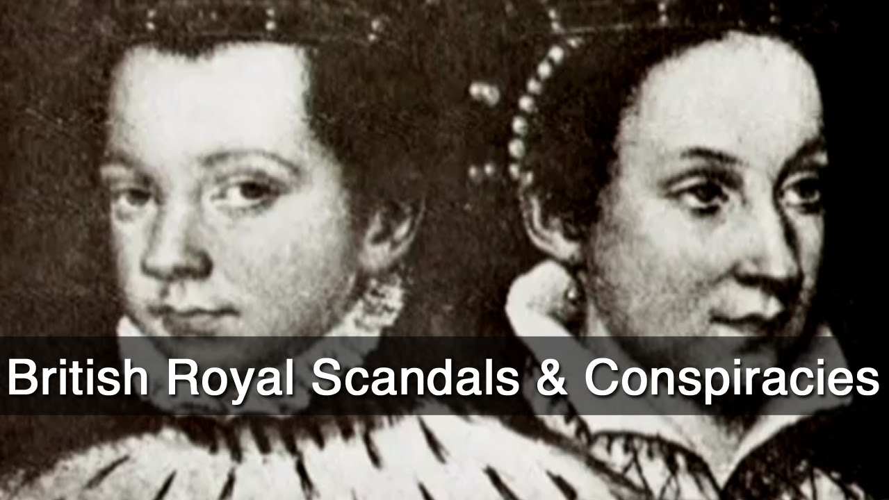 british royal scandals conspiracies
