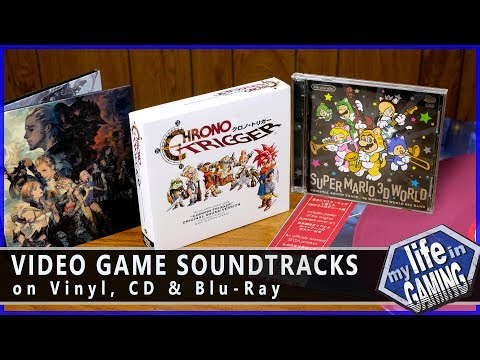 Video Game Soundtracks on CD, Vinyl, and Blu-ray :: Music Showcase - MY LIFE IN GAMING