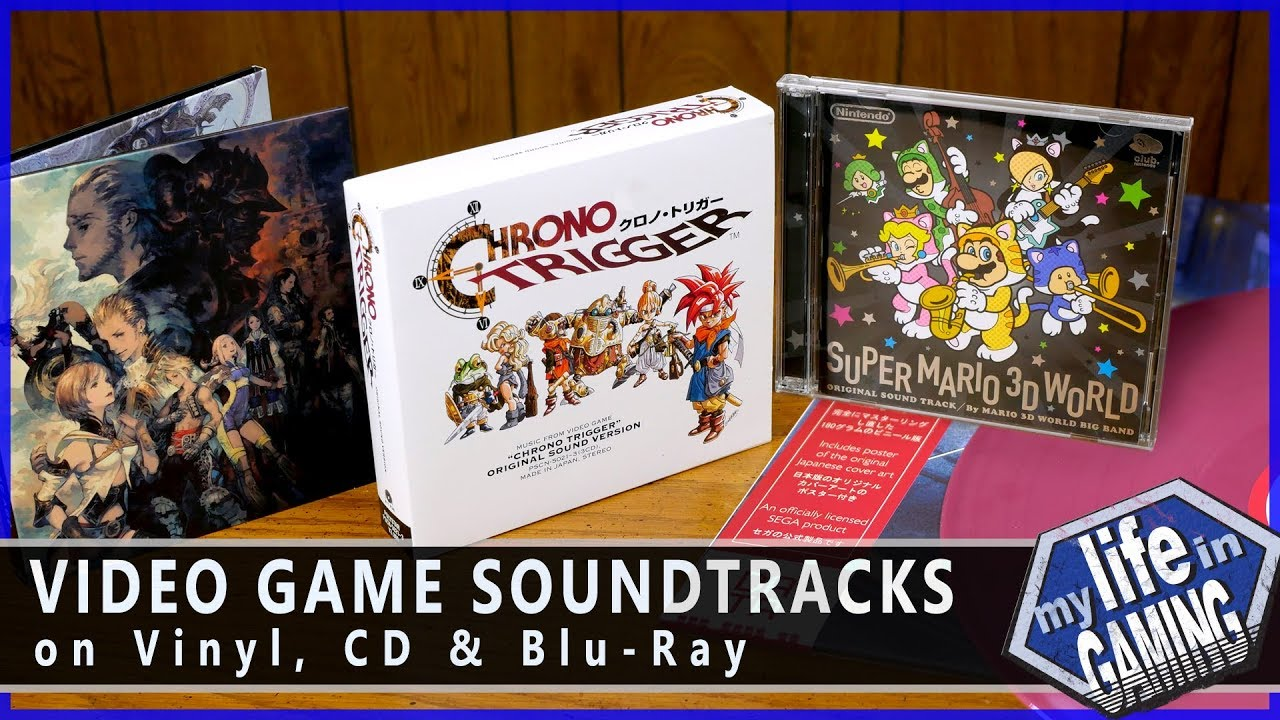 Video Game Soundtracks on CD, Vinyl, and Blu-ray / MY LIFE IN GAMING