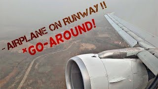 FULL POWER Go-Around in Madrid | Aborted Landing IBERIA A320