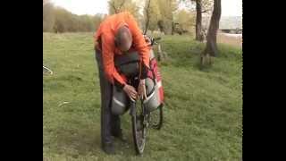 Видеообзор велобаул, велосумка, велорюкзак, сумка для велосипеда DenVik trunk-bag