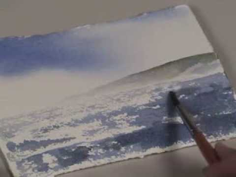 Wind Blown Water in Watercolor with Birgit O'Connor
