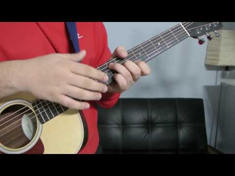 How to play an B Flat add 9 (Chord Guitar Tutorial!!)
