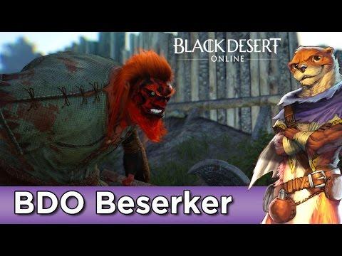 Black Desert Online ► Character Creation ► Beserker