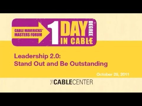 Cable Mavericks Master Forum #1  2011
