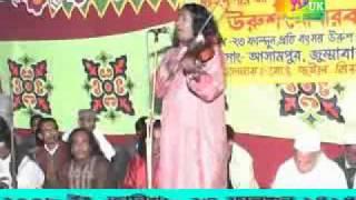 -Anam baul- Bangladesh baul song. Birohi kala miah. Gor banailo re. Assam pur wrus. 2008.